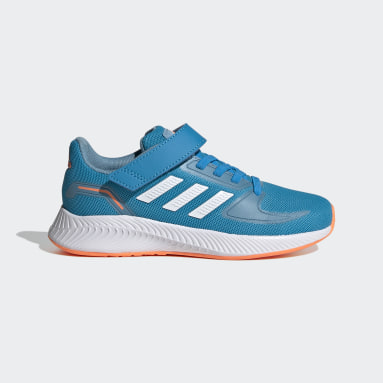 Kids 4-8 Years Running Blue Runfalcon 2.0 Shoes