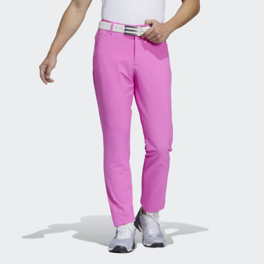 Men Golf Pink TE Pants
