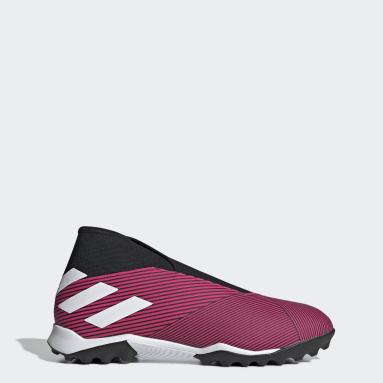 Women Football Pink Nemeziz 19.3 Turf Boots
