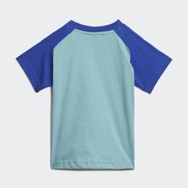 T-shirt adidas x Disney Pixar Monsters, Inc. Vert Enfants Sportswear
