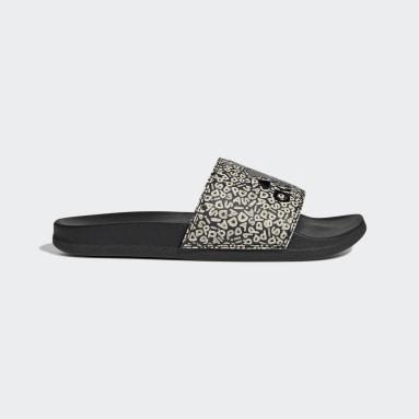 Ciabatte adilette Comfort Nero Donna Sportswear