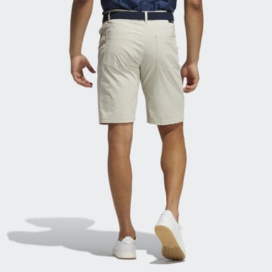 Men Golf Beige Go-To Five-Pocket Shorts