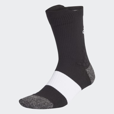 Training Black Running Ultralight Crew Performance Socks