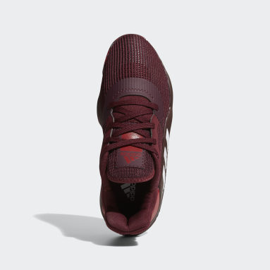 Men's Basketball Burgundy Pro Bounce 2019 Low Shoes