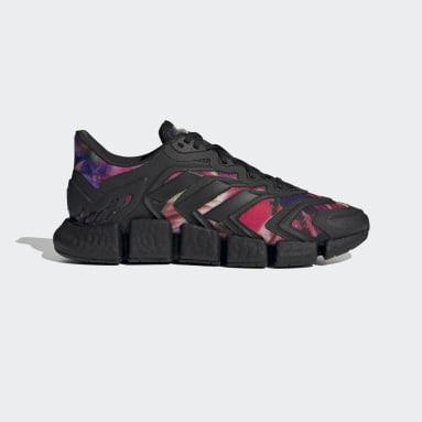 Men Running Black Climacool Vento Shoes