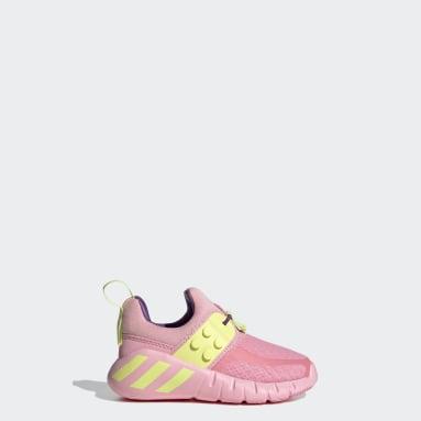 Børn Fitness Og Træning Pink adidas RapidaZen x LEGO® sko