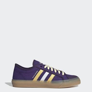 Chaussure Wales Bonner Nizza Lo Pourpre Originals