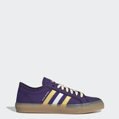 Men Originals Purple Wales Bonner Nizza Lo Shoes