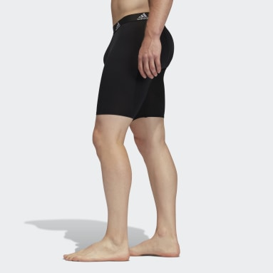 Men's Training Black Performance Midway Boxers 3 Pairs