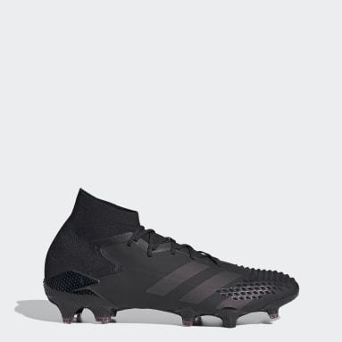 Women Football Black Predator Mutator 20.1 Firm Ground Boots