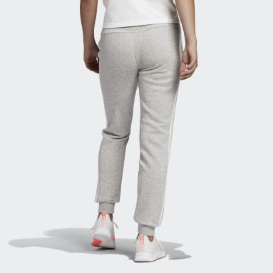 Dames Sportswear Grijs Essentials French Terry 3-Stripes Broek
