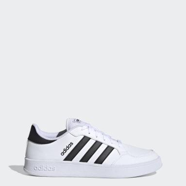 Tennis Breaknet Schuh Weiß