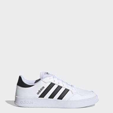 Men Sport Inspired White Breaknet Shoes
