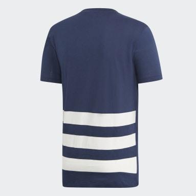 Men Handball Blue French Handball Federation T-Shirt