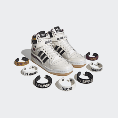 Zapatillas Forum 84 Hi Girls Are Awesome Blanco Originals