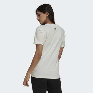 T-shirt Tennis Luxe Graphic Blanc Femmes Originals