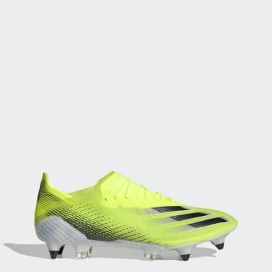 Football Yellow X Ghosted.1 Soft Ground Boots