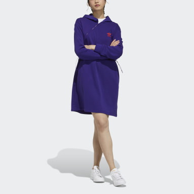 Women Originals Purple CNY Dress