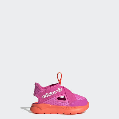 Deti Originals ružová Sandále 360