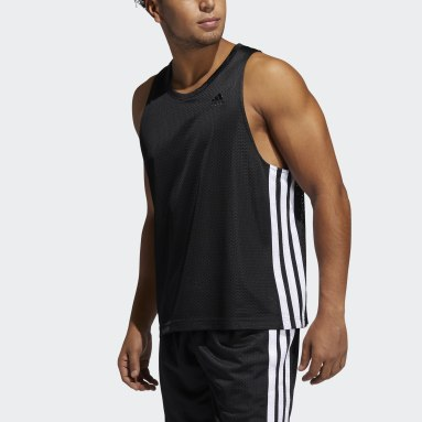 Men's Basketball Black Summer Legend Tank Top