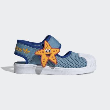 Children Originals Yellow Superstar 360 Primeblue Sandals