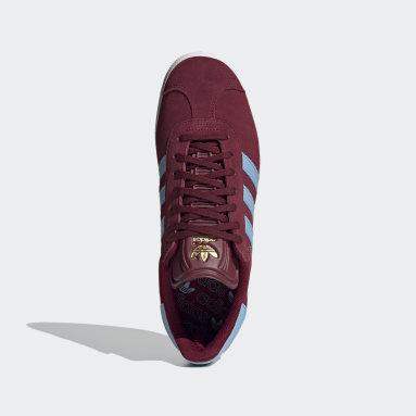 Women Originals Burgundy Gazelle Shoes