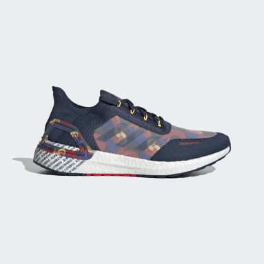 Running Blue Ultraboost 20 City Light Seoul Shoes