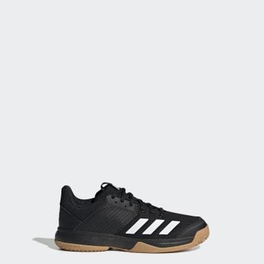 Kids Netball Black Ligra 6 Shoes