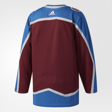 Maillot Avalanche Domicile Authentique Pro rouge Hockey