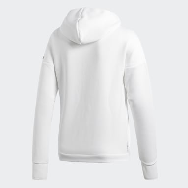 Men Sportswear White adidas Z.N.E. Fast Release Hoodie