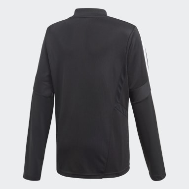 Kids Gym & Training Black Tiro 19 Training Top