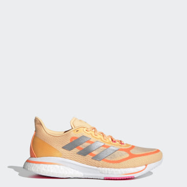 Women Running Orange Supernova+ Shoes