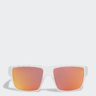 Lunettes de soleil Sport SP0006 Blanc Padel Tennis
