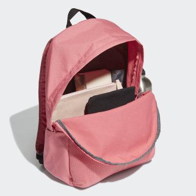 ไลฟ์สไตล์ สีชมพู กระเป๋าเป้ 3-Stripes ทรงคลาสสิก