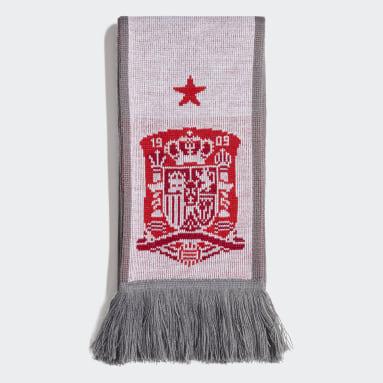 Cachecol de Espanha Branco Futebol