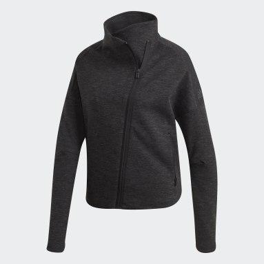 Women Sportswear Black Heartracer Jacket