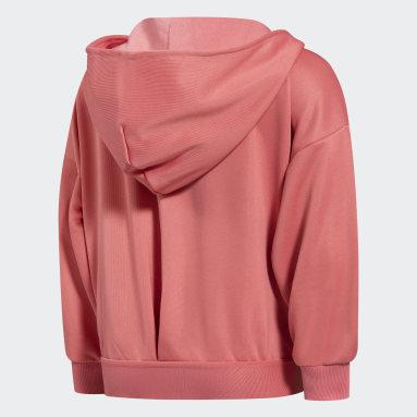 Girls Training Pink UP2MV AEROREADY Full-Zip Hoodie