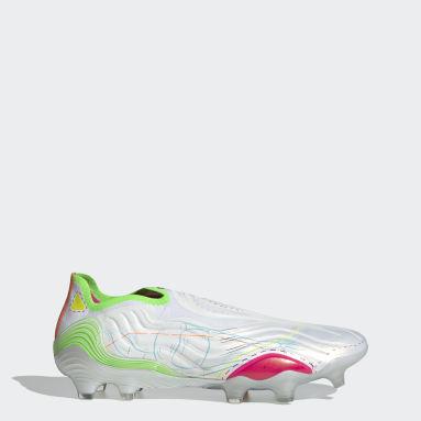 Mænd Fodbold Hvid Copa Sense+ Inner Life Firm Ground støvler