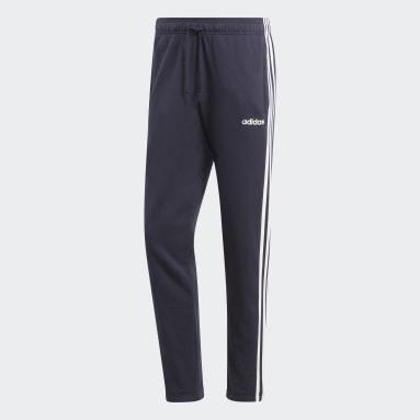 Men's Essentials Blue Essentials 3-Stripes Tapered Pants