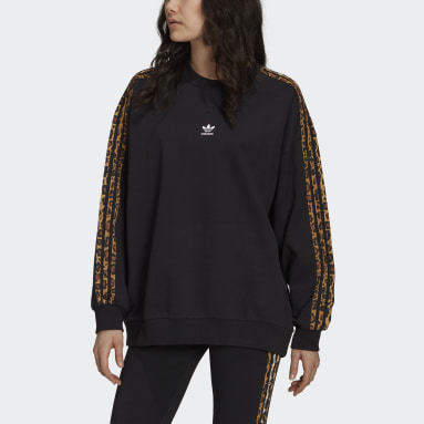 Sweat-shirt Crew noir Femmes Originals