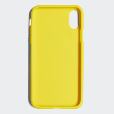 Funda iPhone X Adicolor Snap Amarillo Originals