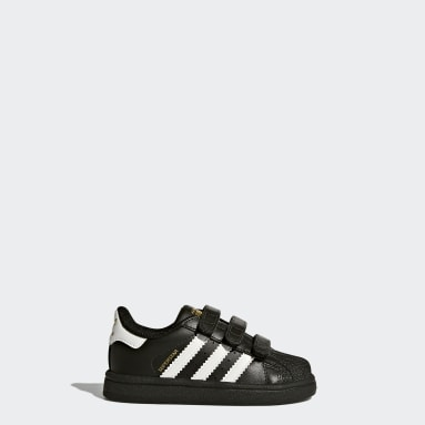 Infant Originals Black Superstar Shoes