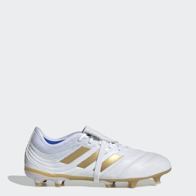Heren Voetbal Wit Copa Gloro 19.2 Firm Ground Voetbalschoenen