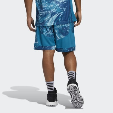 Men Basketball Blue Ball for the Oceans Creator Shorts