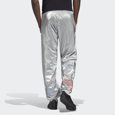 Men's Originals Silver Adicolor Tricolor Track Pants