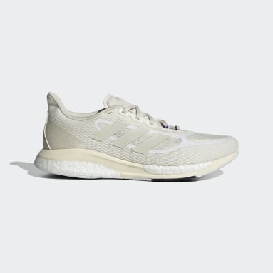 Men Running White Supernova+ Shoes