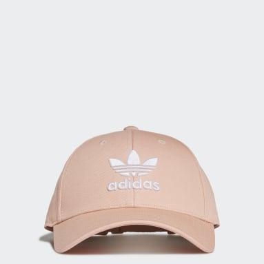 Trefoil Baseball Caps Rosa