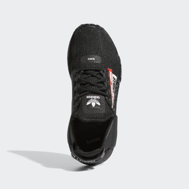 Youth Originals Black NMD_R1 V2 Shoes