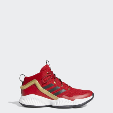 Tenis Lockdown Rojo Niño Basketball