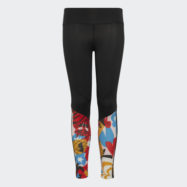 Girls Training Black Egle Believe This AEROREADY Tights